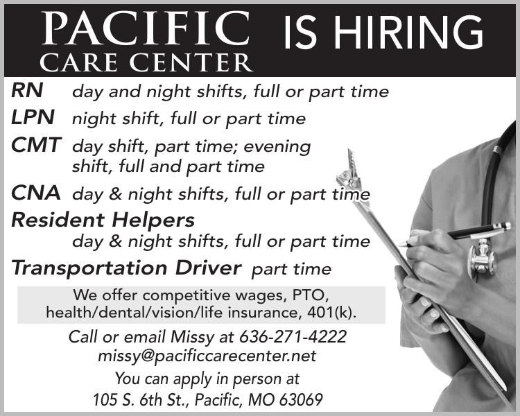 Pacific IS HIRING