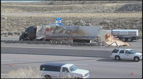 Ketchup Truck Crashes