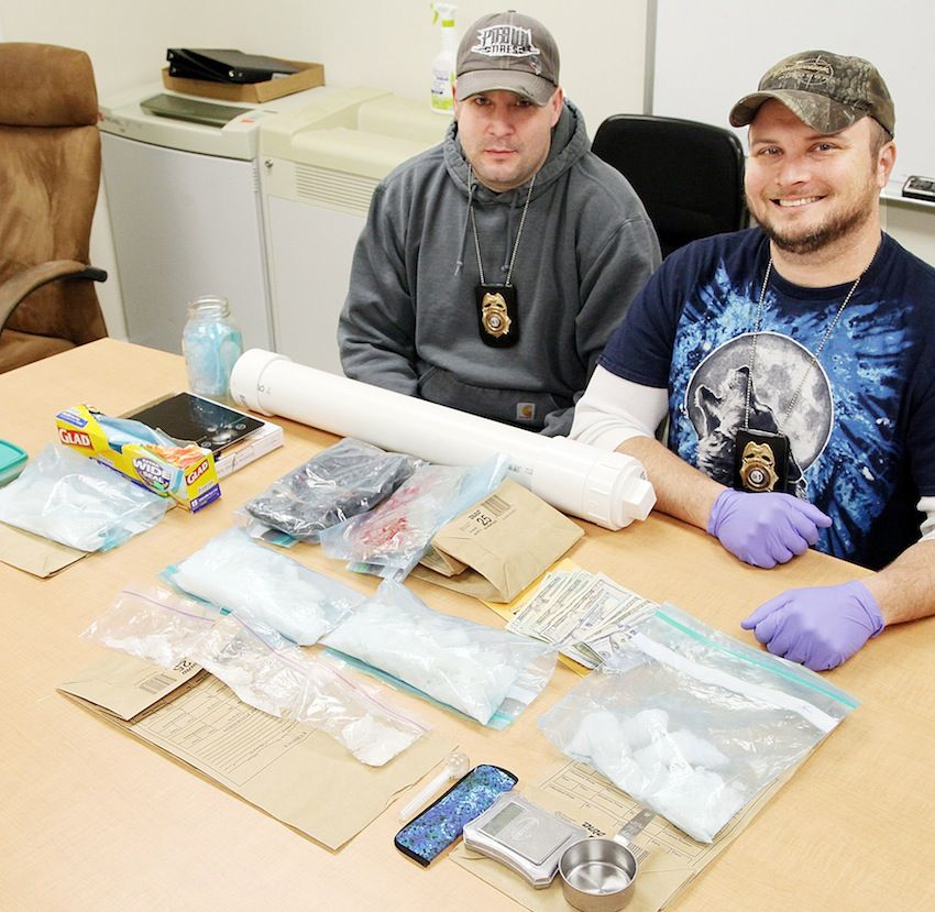 Task Force Snags Large Amount Of Meth Crime