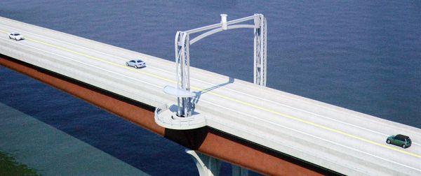 Missouri River Bridge in Washington