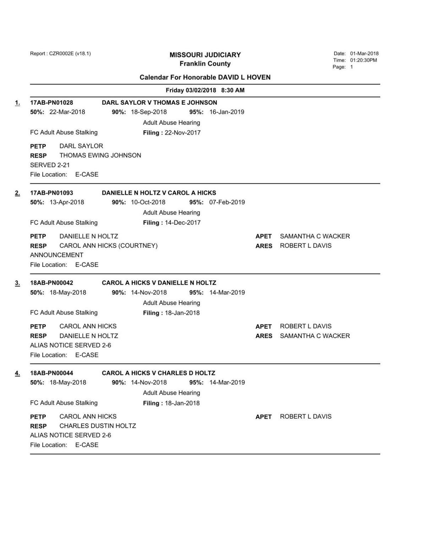 3-2-18 exparte docket .pdf