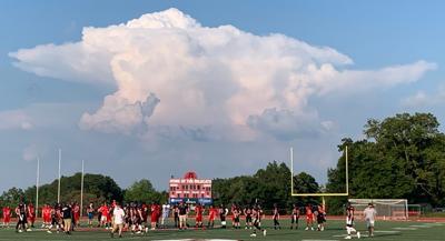 Clouds Over Stierberger Stadium