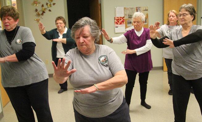 Mary Jones Teaches Tai Chi