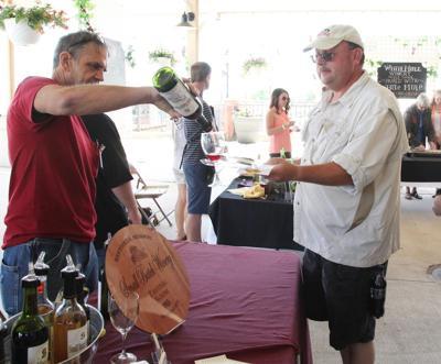 Art fair wine fest