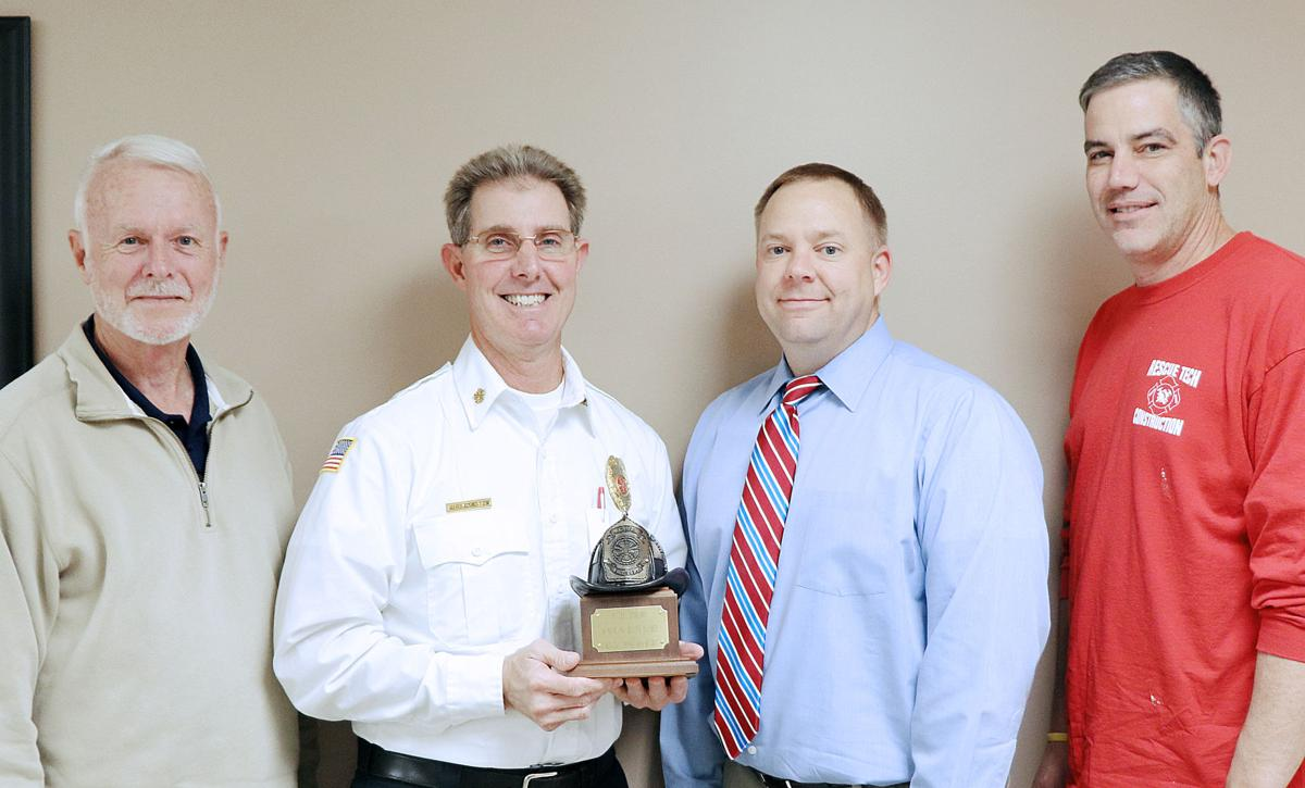 Fire Chief Marks 10 Years