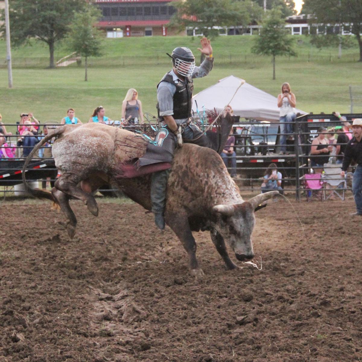 Franklin County Fair Bull Ride 2017