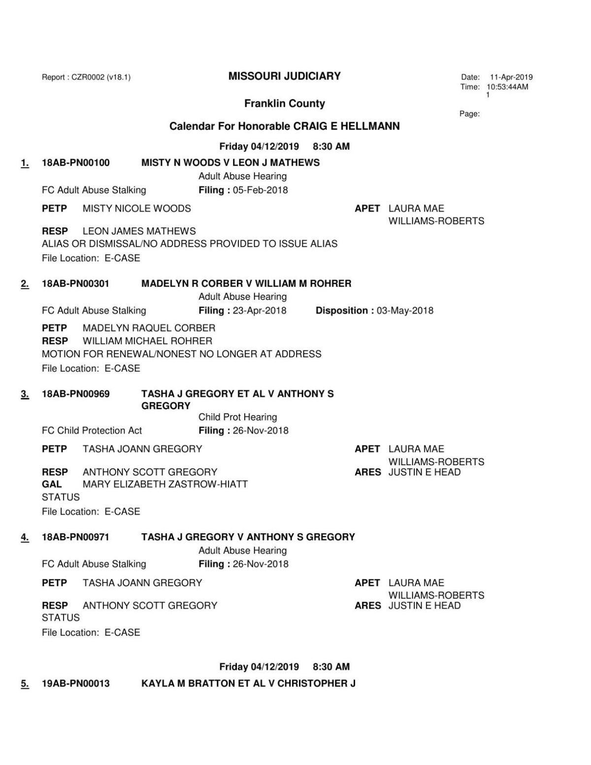 4-12-2019 ADULT ABUSE DOCKET DIV I