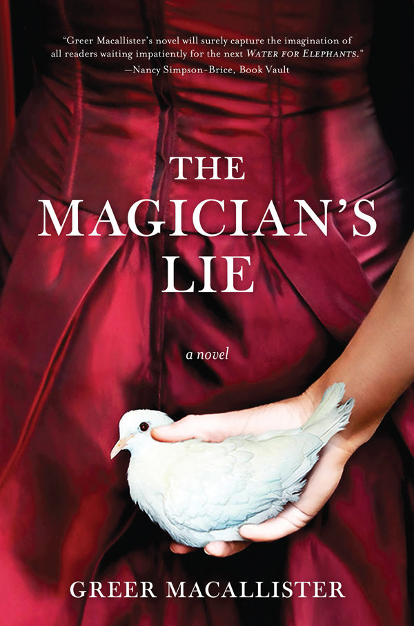 """""""The Magician's Lie,"""" by Greer Macallister"""