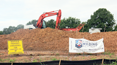 Proposed Site for Welding School