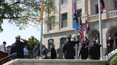 2011 Union 9/11 ceremony