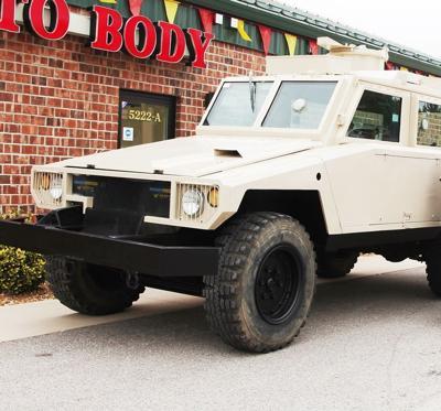 City's Momba Armored Vehicle