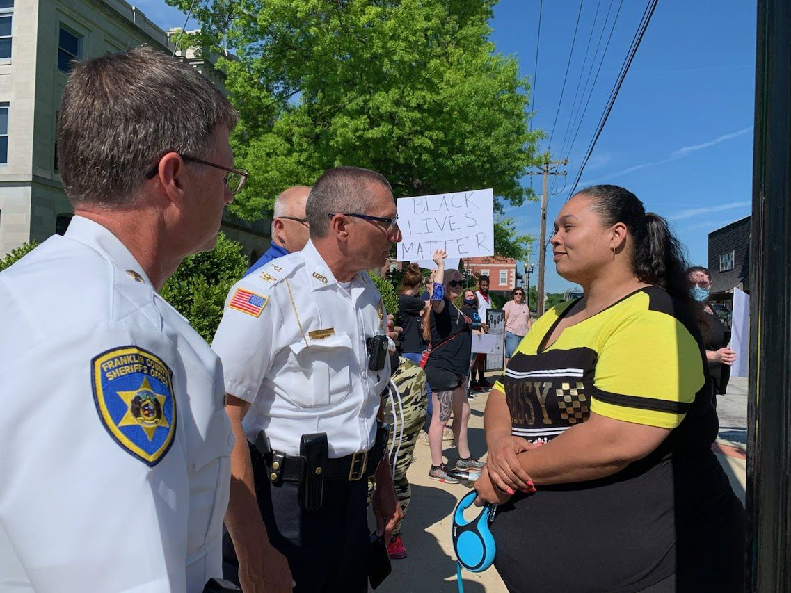 Protest in Union