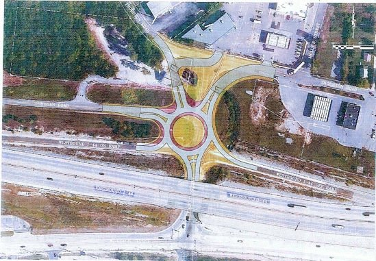 Drawing of Proposed Roundabout