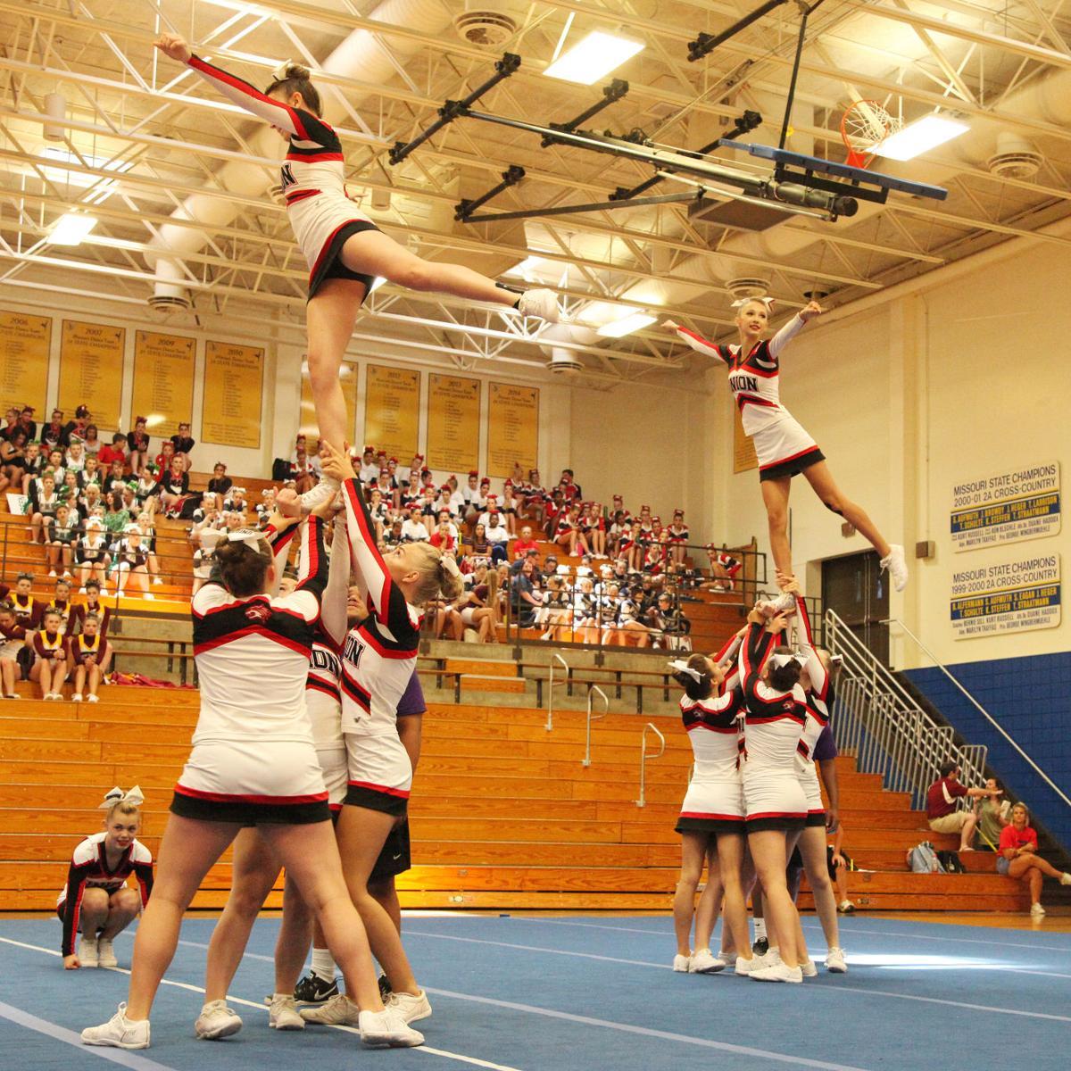 Union High School Cheer 2017