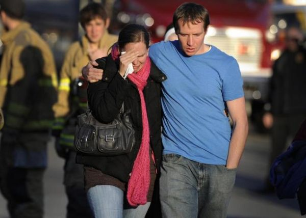 Newtown Victim Families Meet With Killer's Father