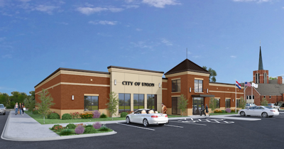New Union City Hall Rendering