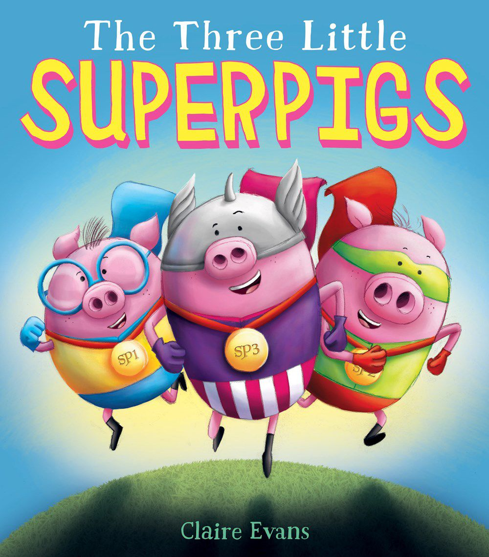 """""""The Three Little Superpigs"""""""