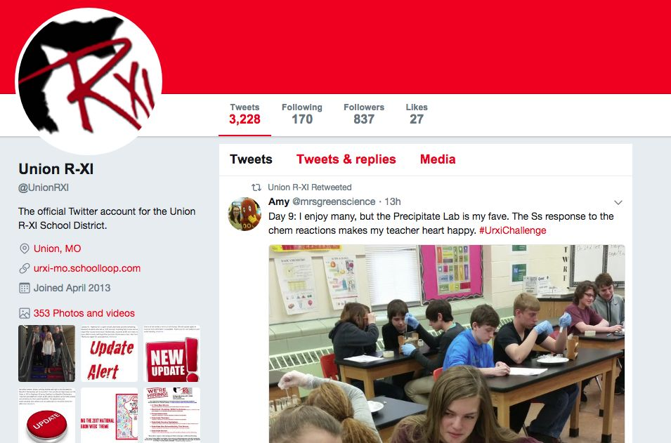 Teachers Shares Ideas Through Twitter