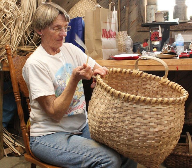 Finishing Large Basket