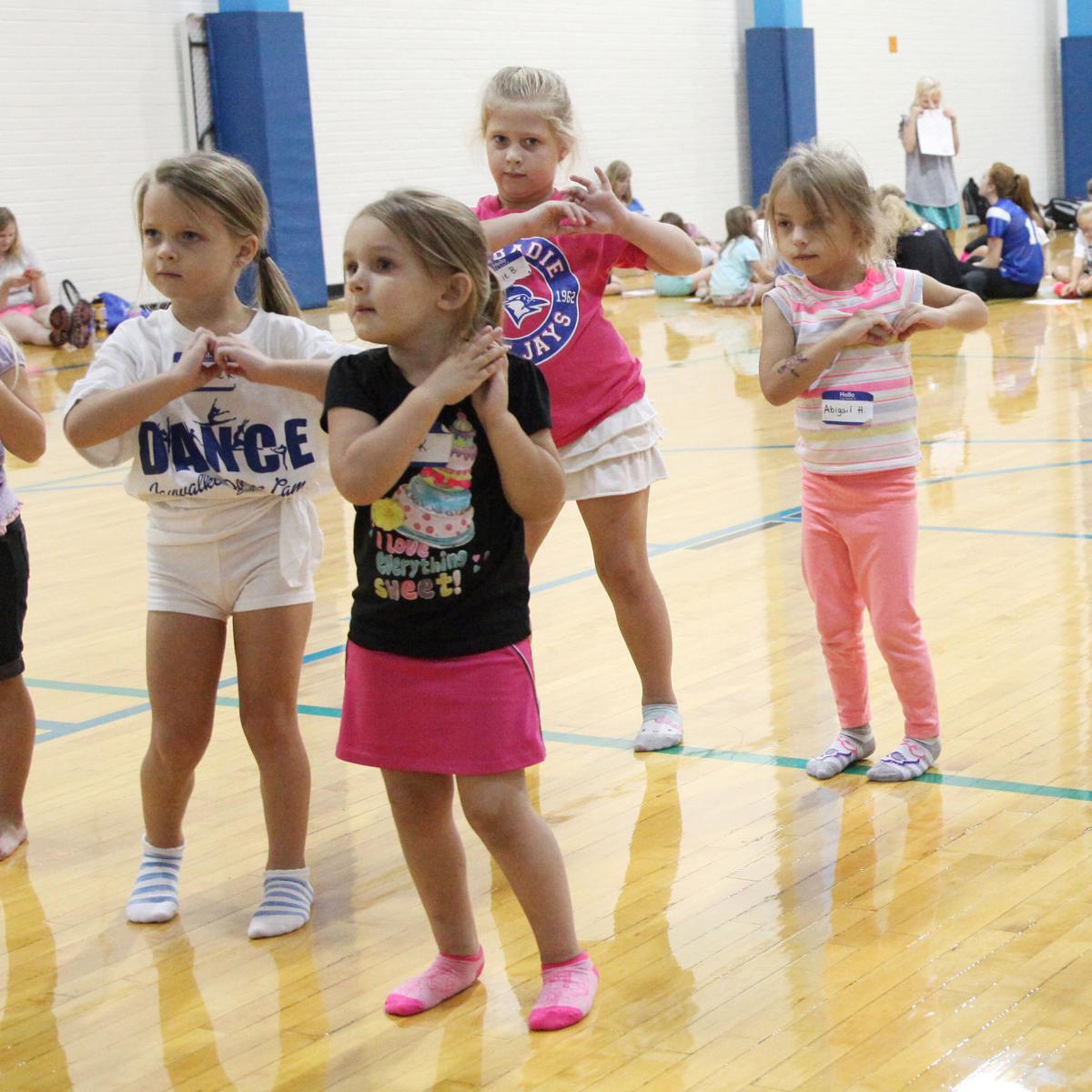 WHS Dance Clinic Sept 2017