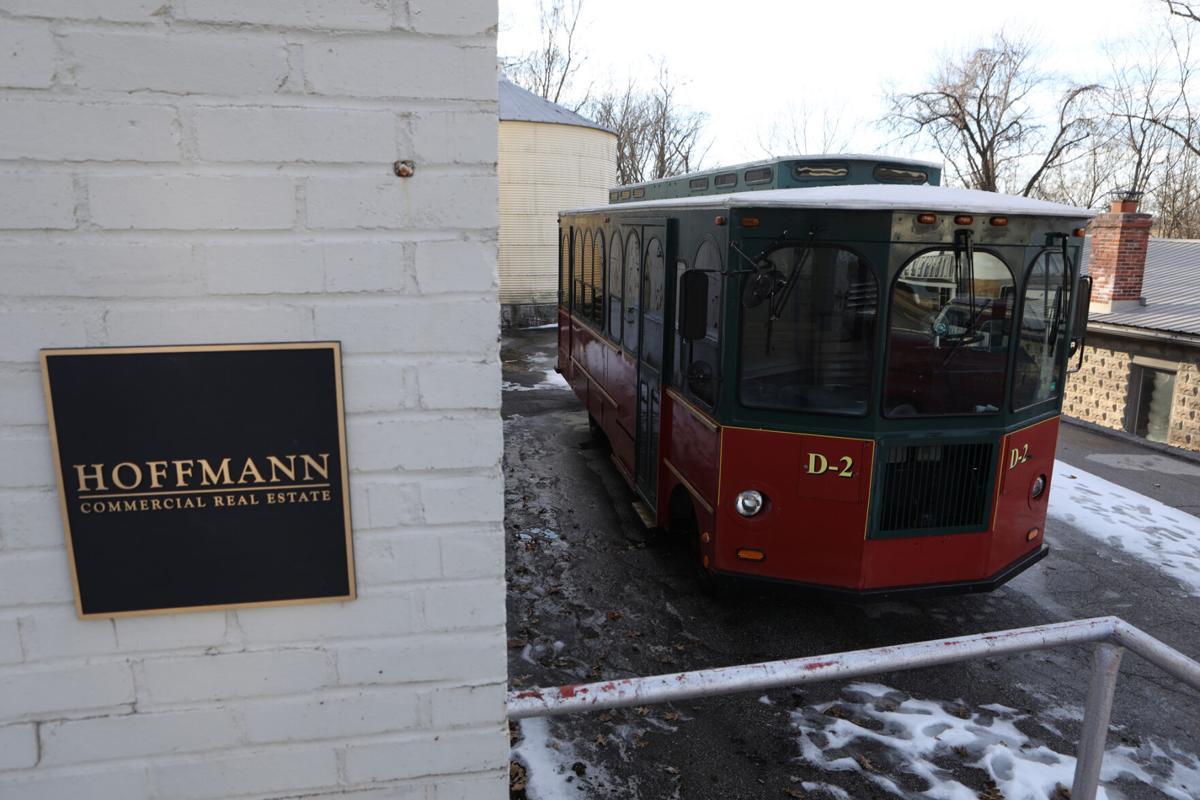 Hoffmann Family of Companies Wine Trolley