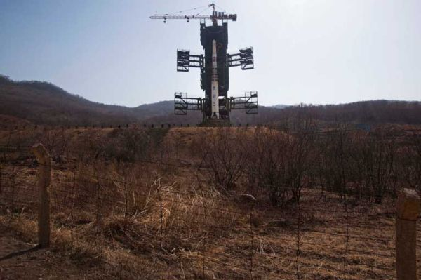 Images of Missiles, Rockets on Display in North Korea