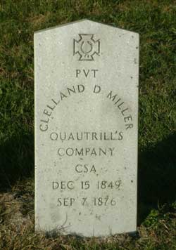 Clell Miller Headstone