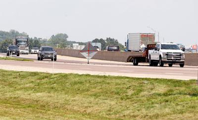 Traffic on Interstate 44