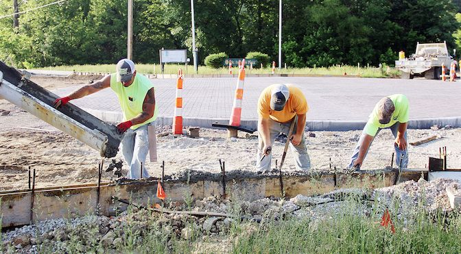 Roundabout Work Continues