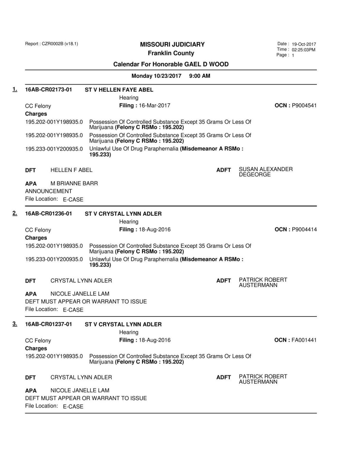 Div I 10-23-17 Docket Part 1.pdf