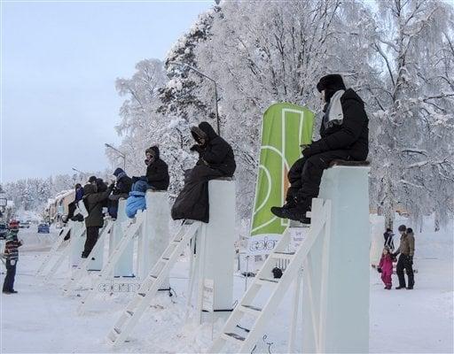 Sweden Pole Sitting