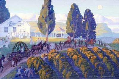 Augusta's Harmonie-Verein by Artist Bryan Haynes