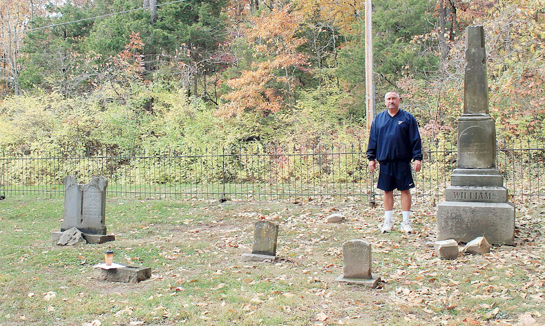 Bruns at Home in City Cemetery