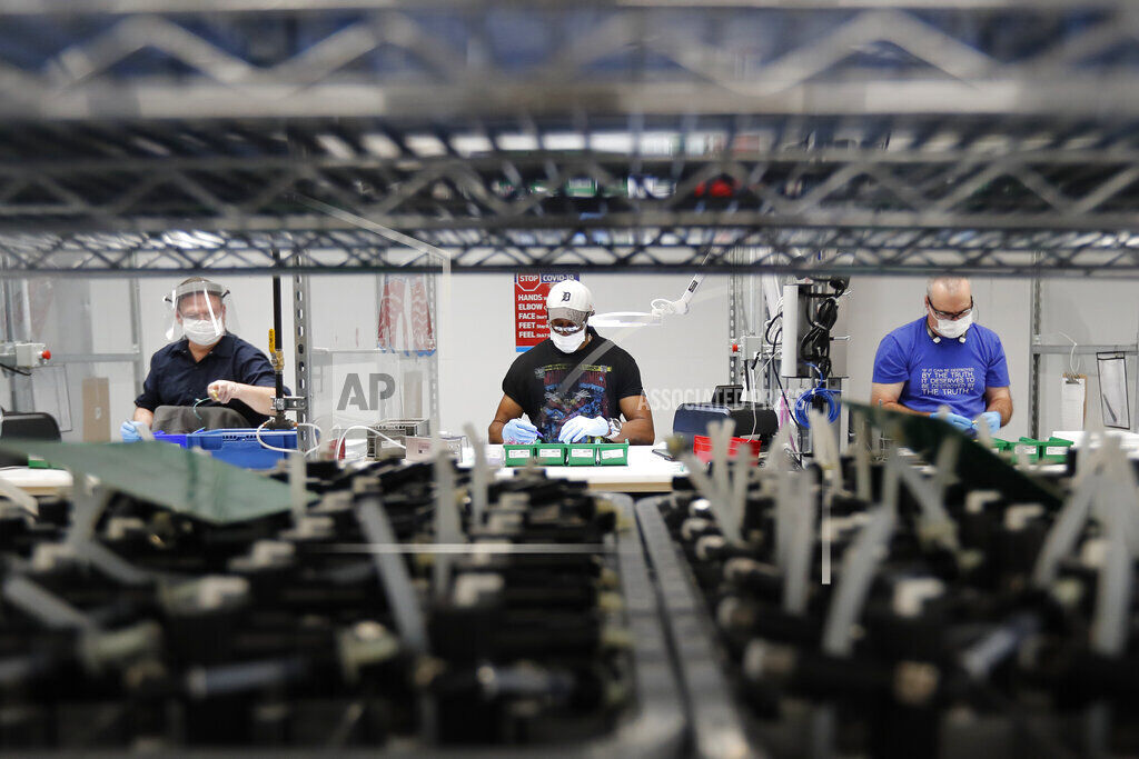 US industrial production up 1.4% this month