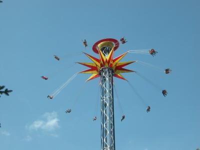 Six Flags STL new Sky Screamer