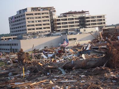 Tornado Aftermath in Joplin