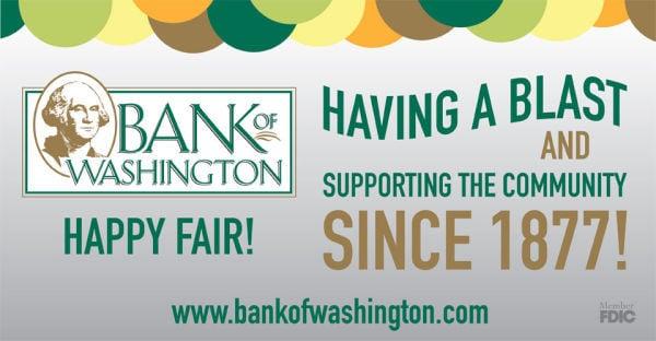 Bank of Washington 2013 Sponsor