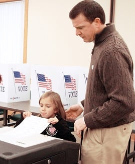 Voting With Dad