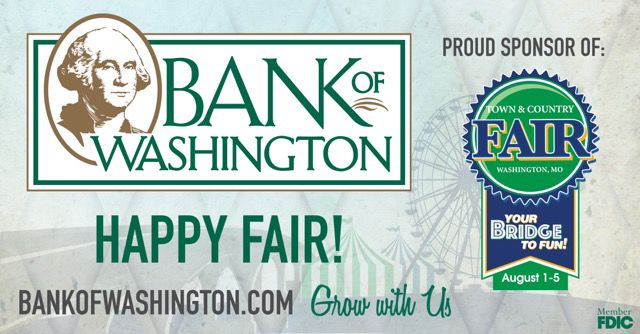 Bank of Washington Fair Parade Sponsorship