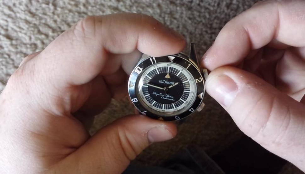 1959 Jaeger-LeCoultre diving watch