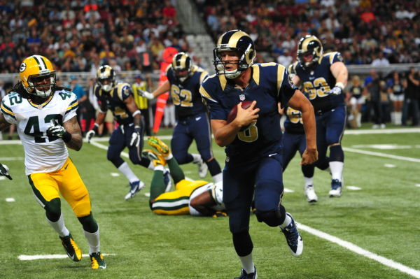 Rams Fall to Packers