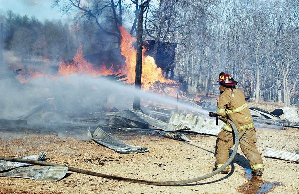 Crews Battle Large Fire
