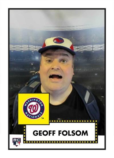 Geoff Folsom baseball card