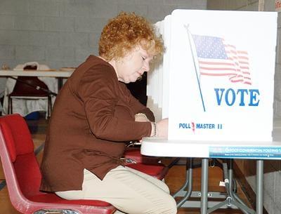 Casting Her Vote