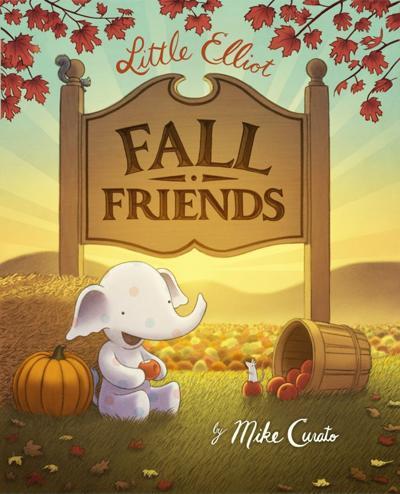 """""""Little Elliott, Fall Friends"""""""