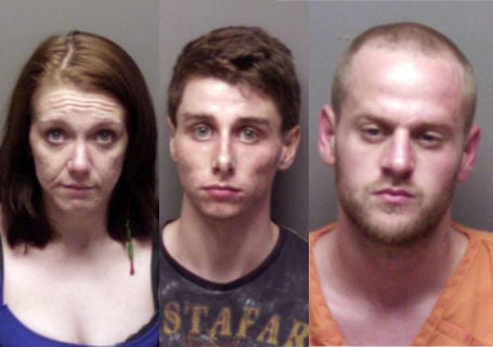 Three arrested on murder charges