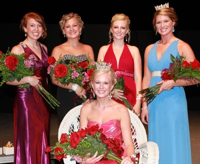 2011 Washington Fair Queen Court