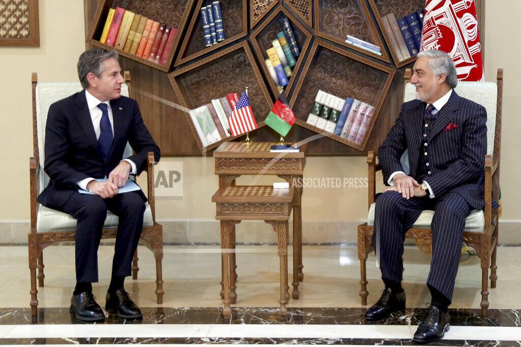 Secretary of State Blinken in Afghanistan to sell Biden troop withdrawal