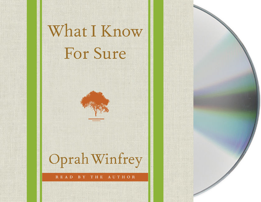 """""""What I Know for Sure,"""" Newest Book Written and Read by Oprah"""