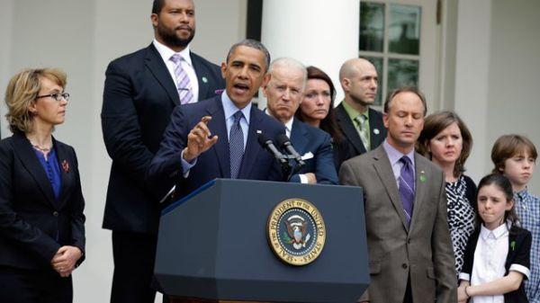 Obama Takes Action on Gun Control